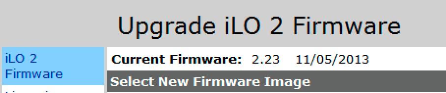 HP] Hướng dẫn nâng cấp firmware iLO HP OOB qua web GUI và