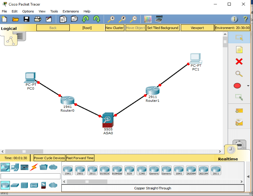packet tracer giả lập