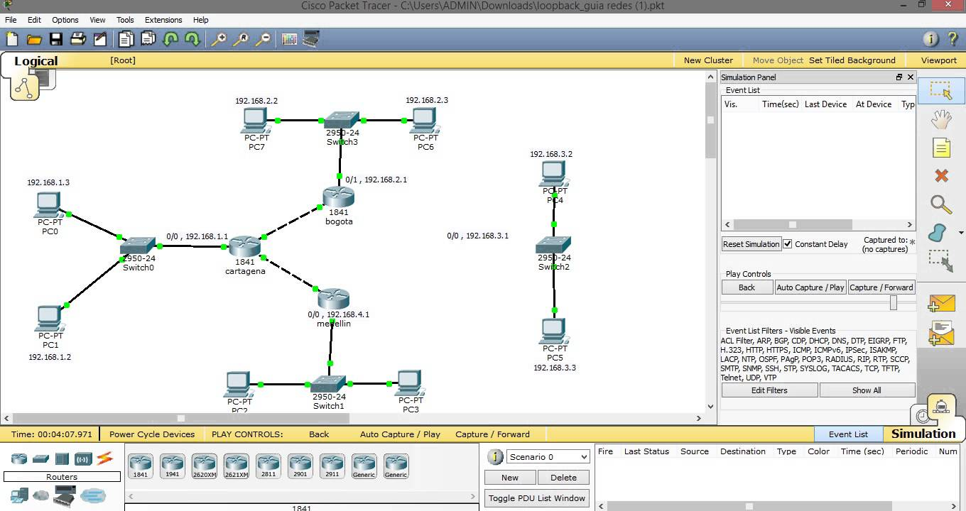 cisco packet tracer 7.0_1