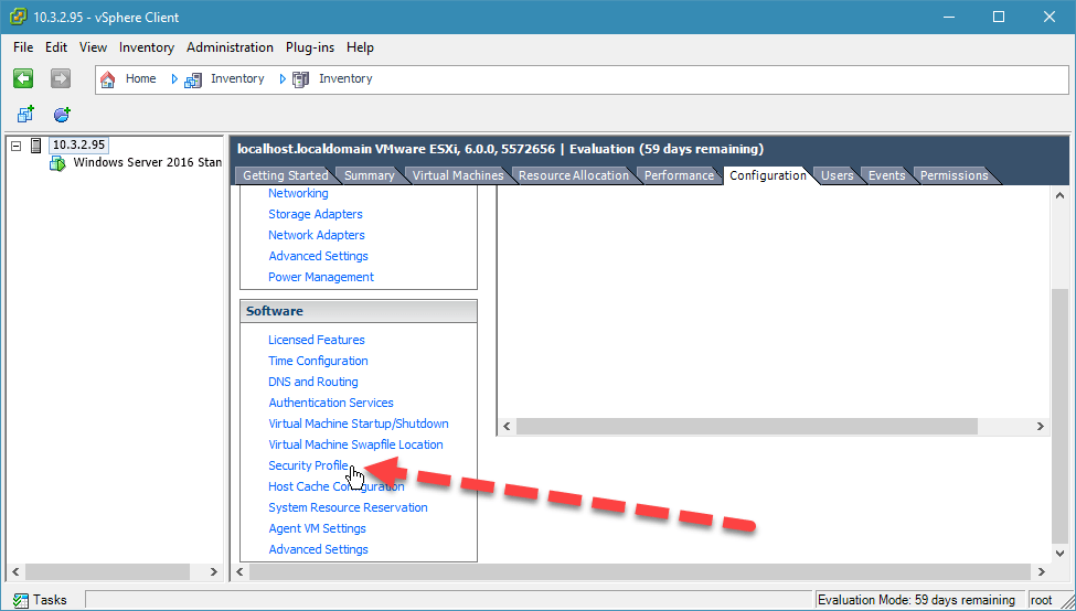 kích hoạt ssh trên esxi với vsphere desktop client - 2