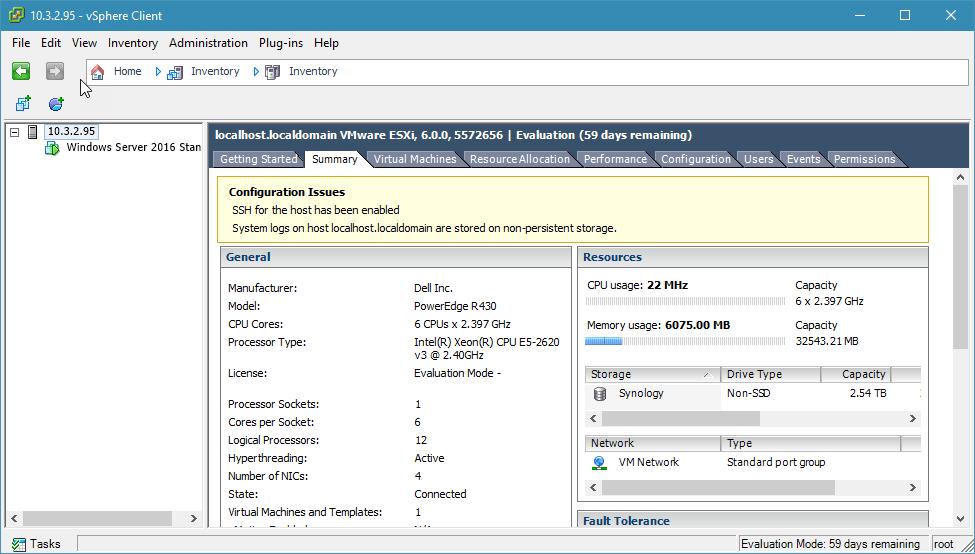 kích hoạt ssh trên esxi với vsphere desktop client - 5