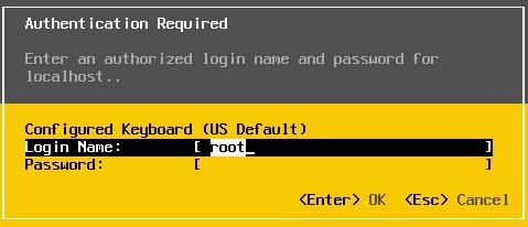 reset mật khẩu root trên esxi - 6