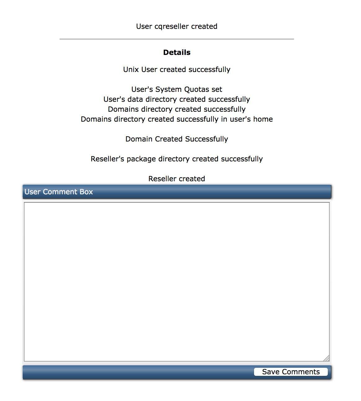 tạo tài khoản reseller trên direct admin - 3