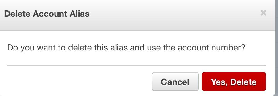 hướng dẫn xoá aws account alias - 2