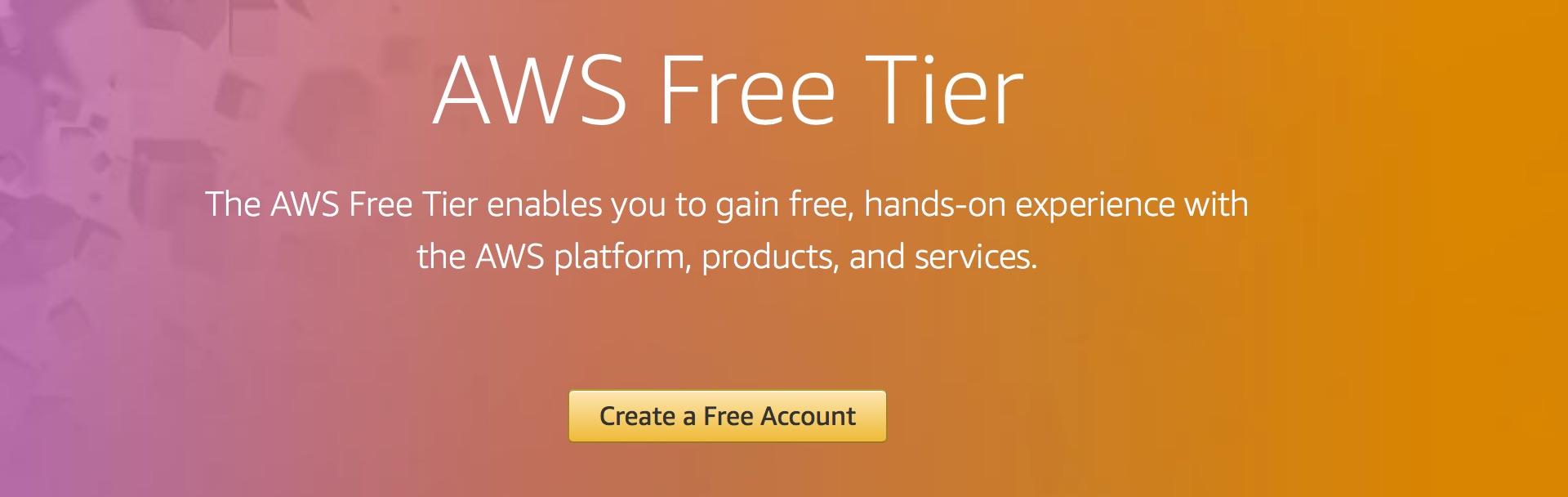 đăng ký aws free tier miễn phí