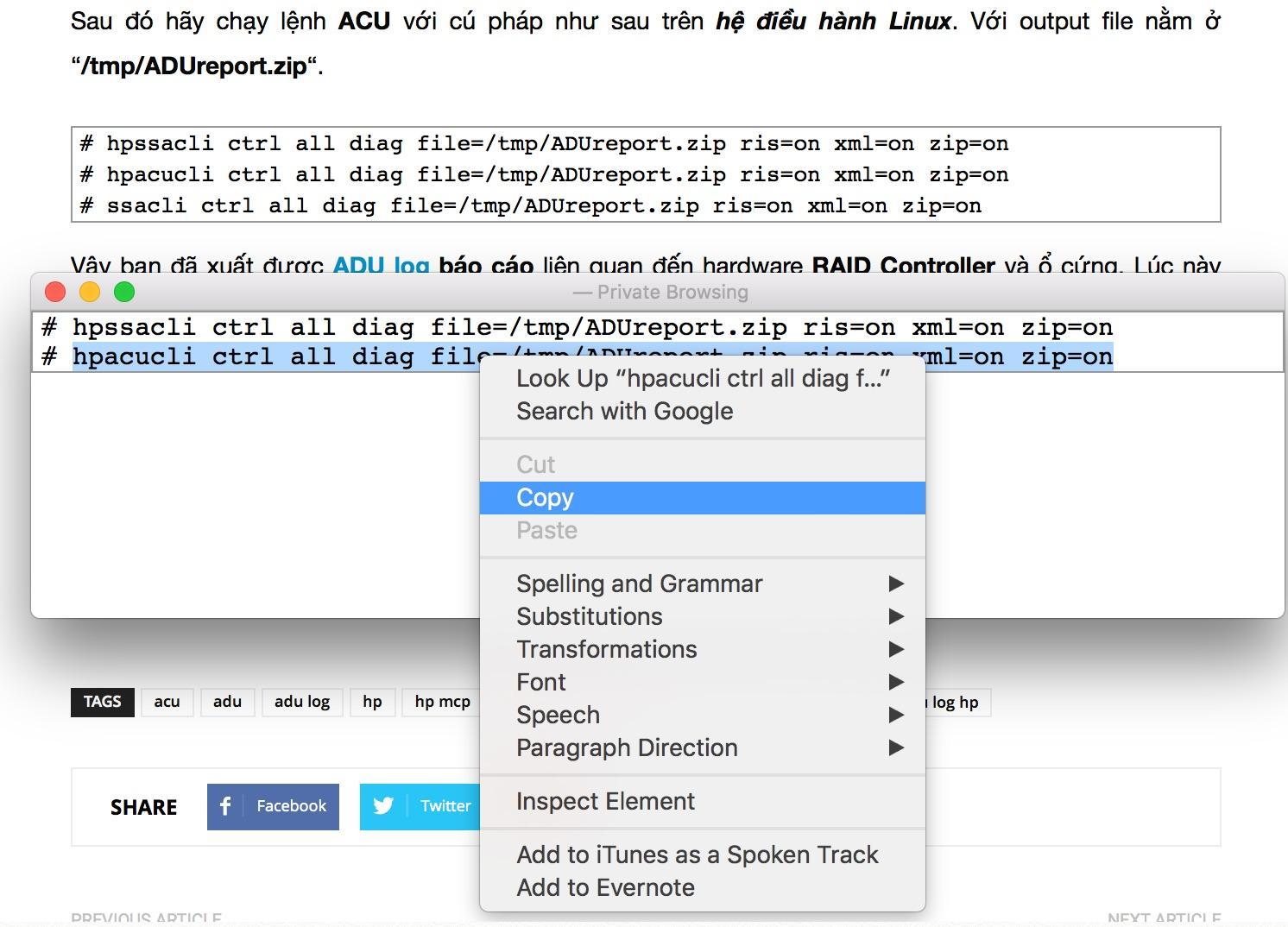 hướng dẫn copy lệnh trên website cuongquach.com - 2
