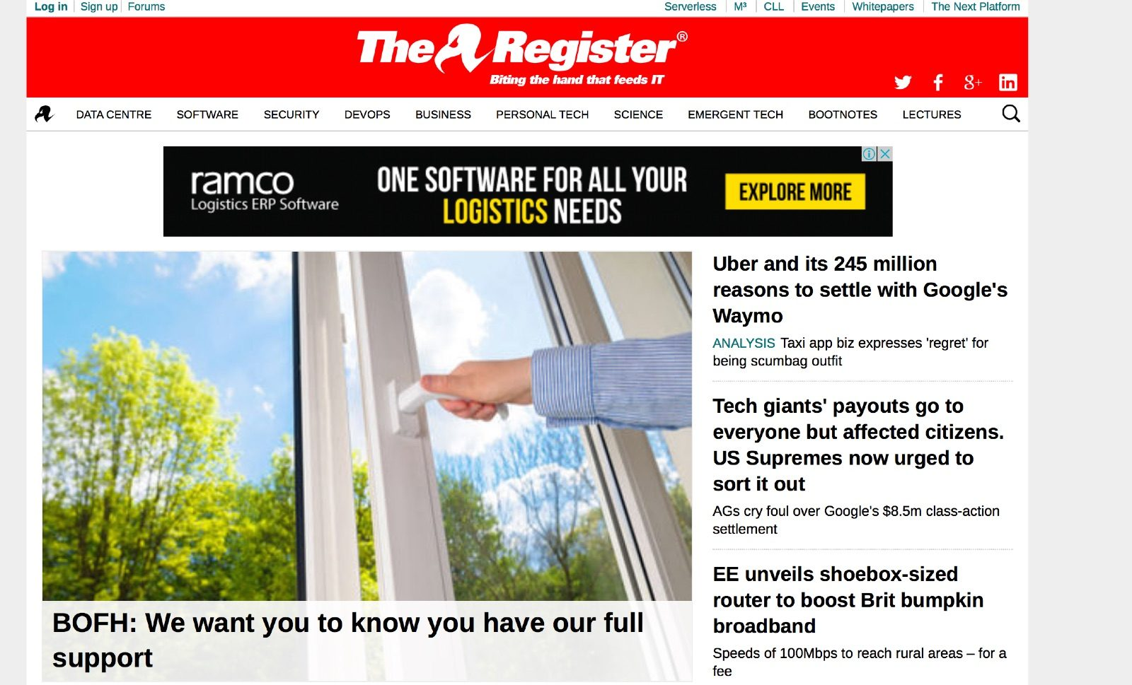 register blog