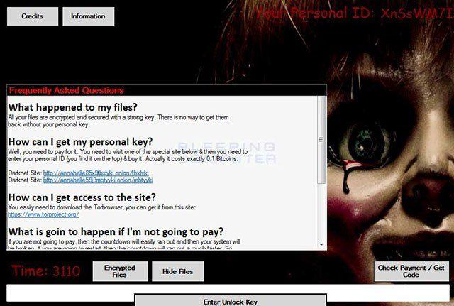 Annabelle Ransomware – mã độc nguy hiểm hơn cả cơn ác mộng