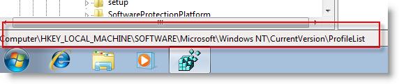 windows 7 registry