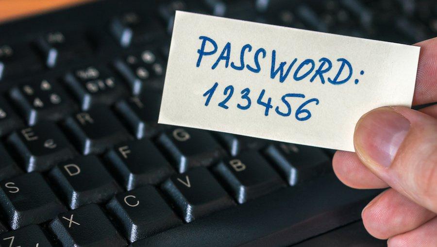 mật khẩu yếu