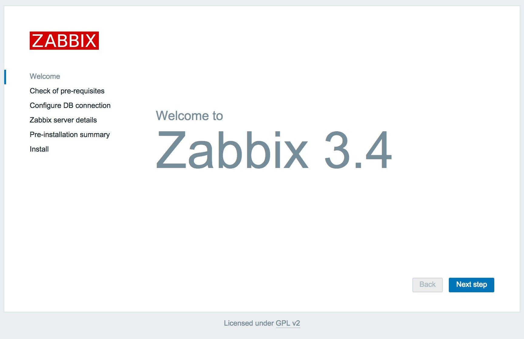 cài đặt zabbix server