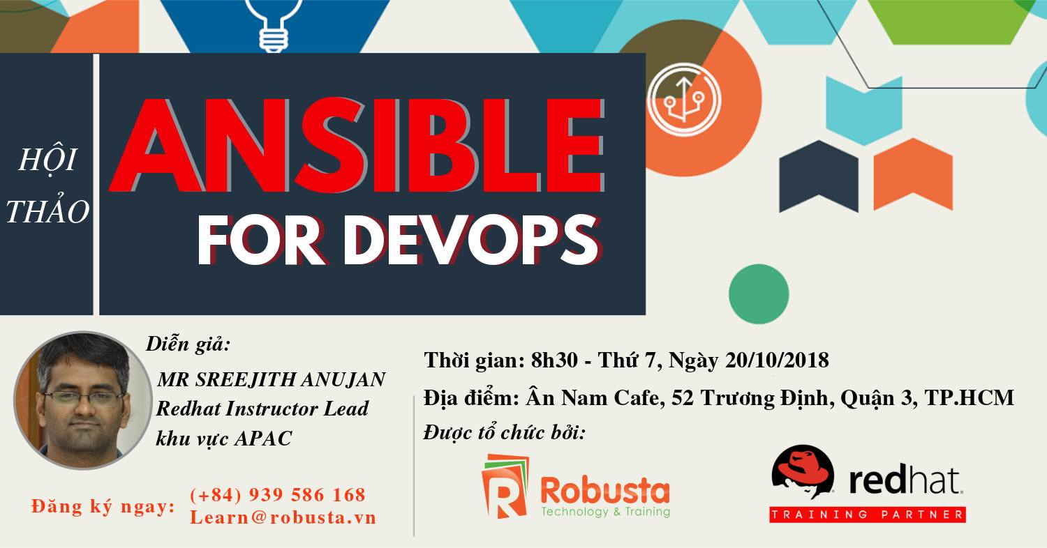 "Hội thảo ""Ansible for DevOps"""