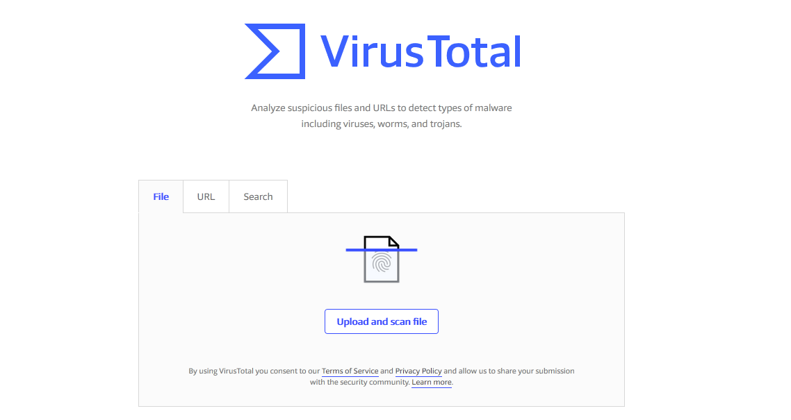 virus total quét virus online
