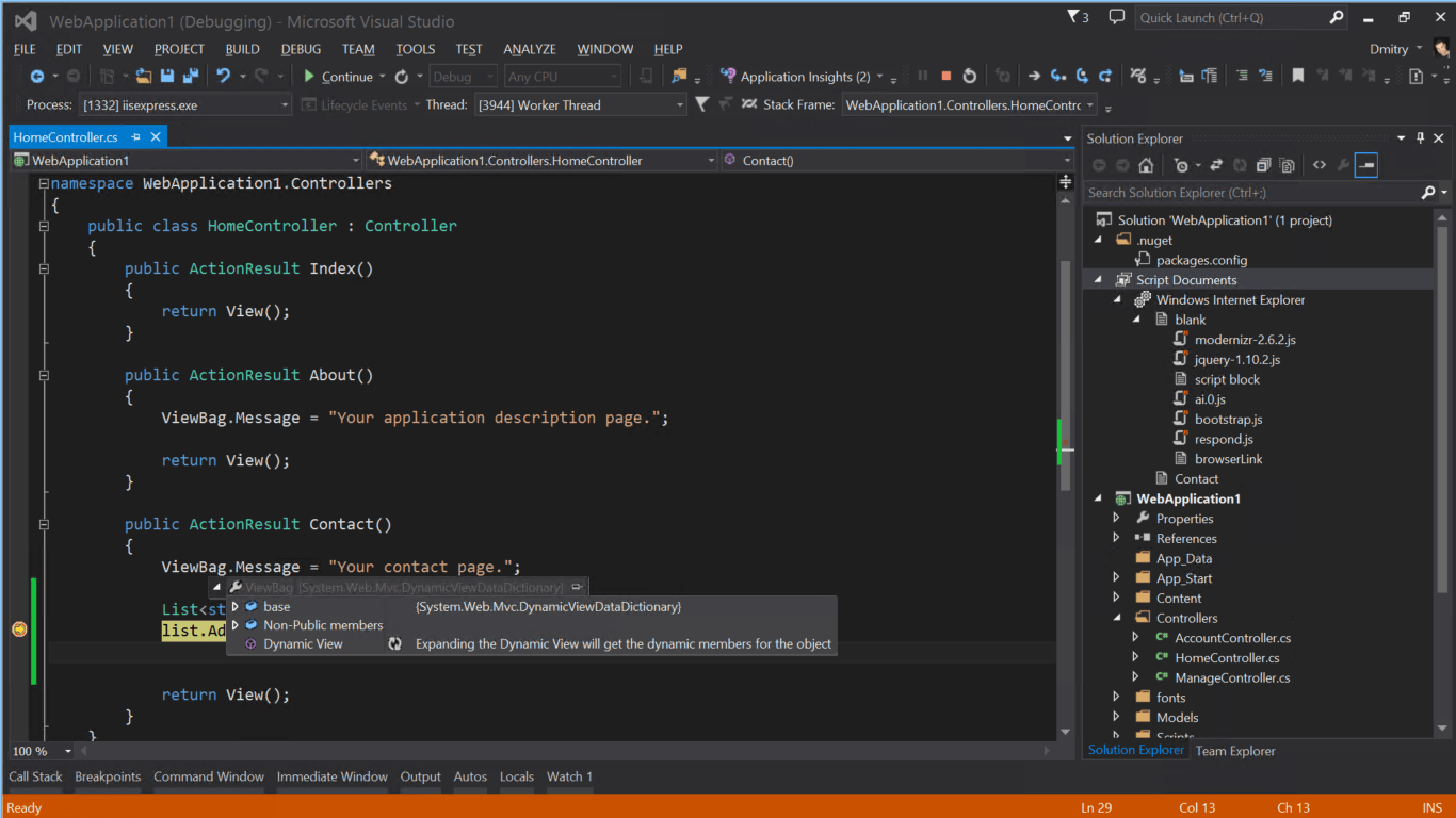 visual studio 2015 - overview