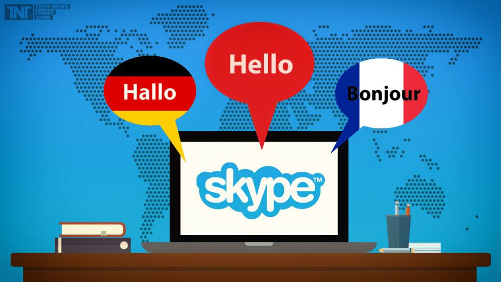 skype dịch ngôn ngữ