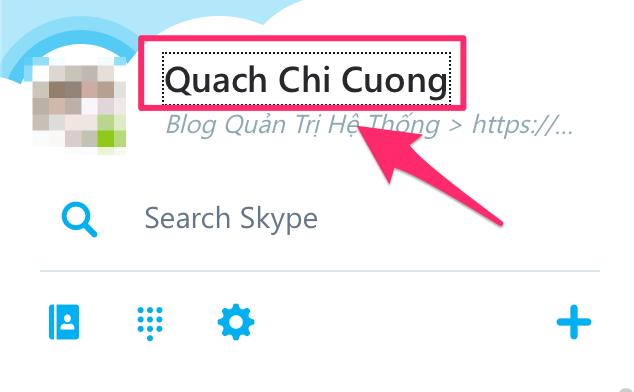 đăng xuất skype web - 1