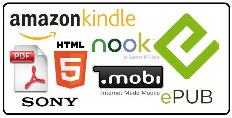 định dạng ebook