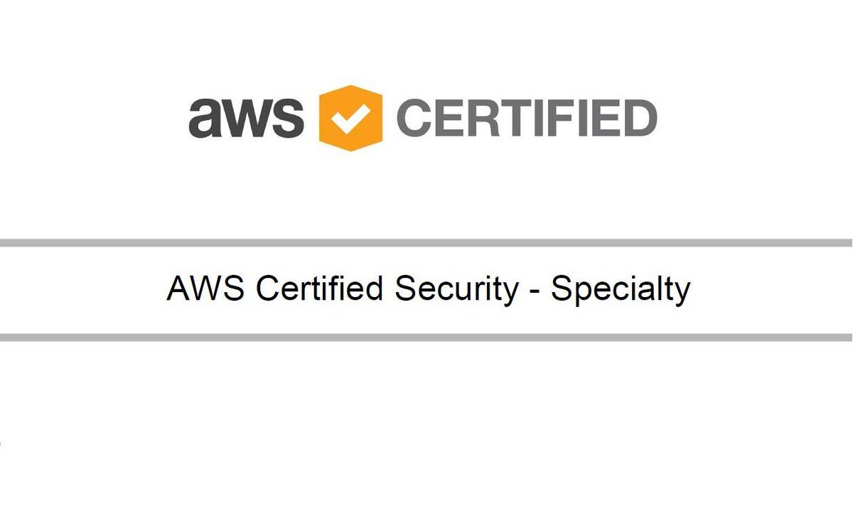 AWS Certified Security – Specialty
