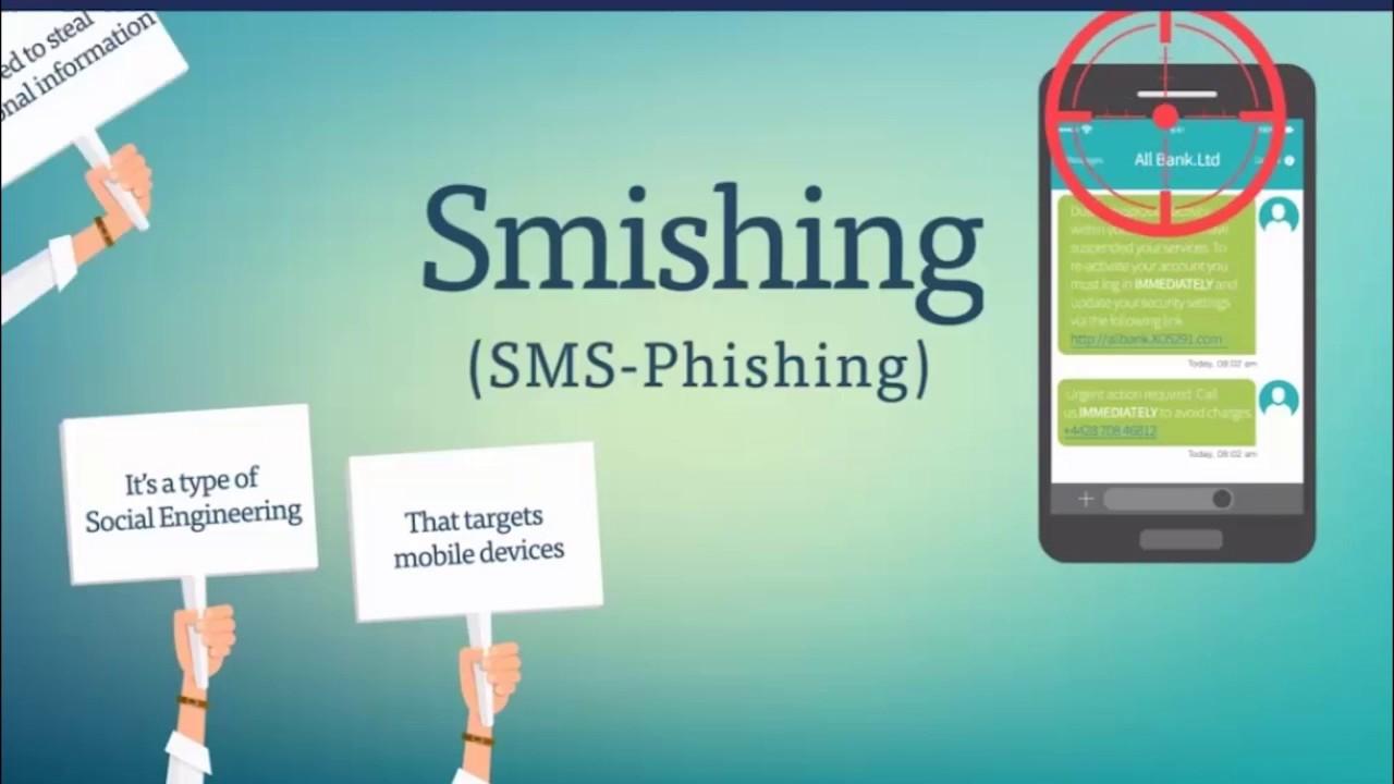 SMiShing là gì?