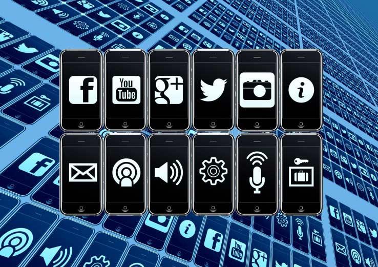 Kết nối Social Media