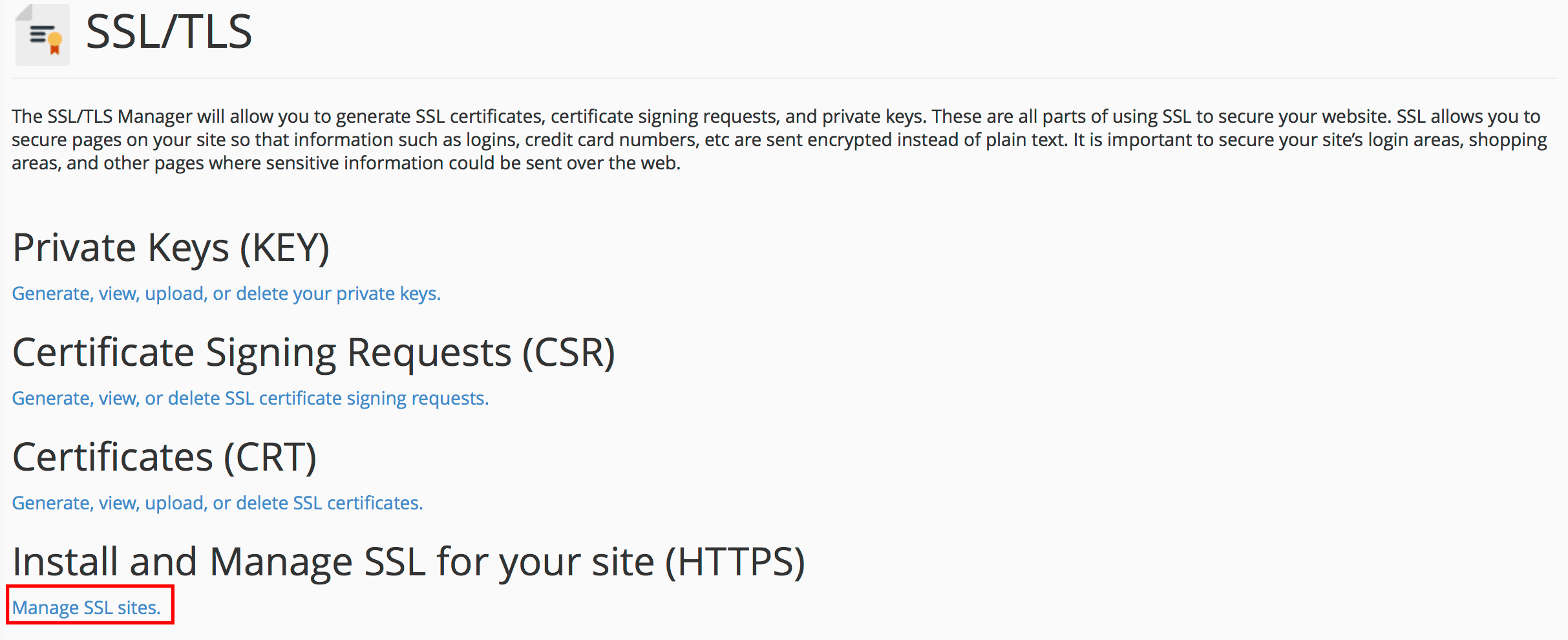 manage-ssl-sites-cpanel