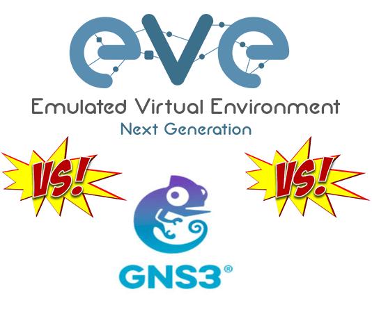 So sánh giữa Unetlab và GNS3, chương trình giả lập thiết bị mạng