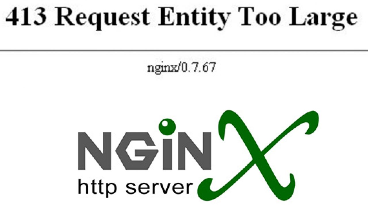 Fix lỗi 413 Request Entity Too Large trên Nginx - Technology