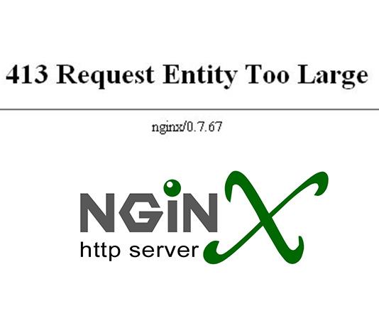 Fix Lỗi 413 Request Entity Too Large Tr 234 N Nginx