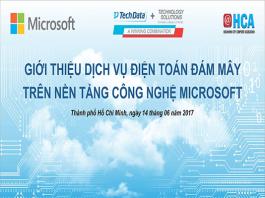hội thảo điện toán đám mây