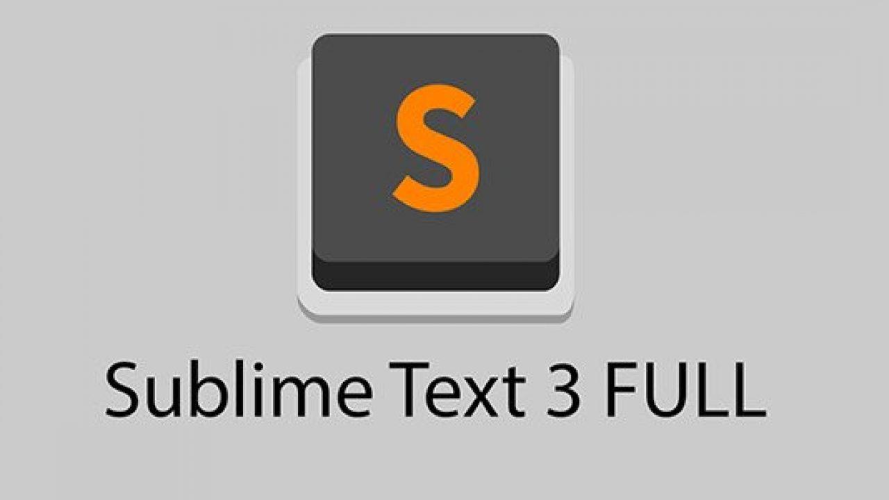 Chia sẻ Key Sublime Text 3 - Sublime Text 3 License Key 2019 mới
