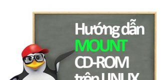 hướng dẫn mount cd-rom trên linux