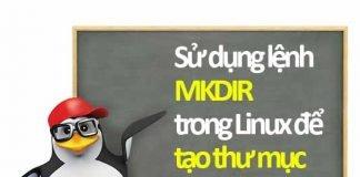 lệnh mkdir trong linux tạo thư mục