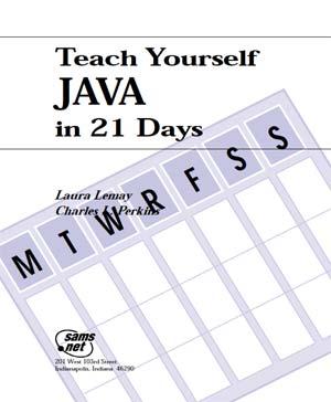 ebook java teach yourself java in 21 days