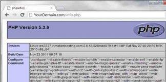 xác định vị trí file php.ini