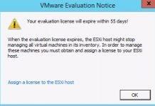 evaluation license esxi