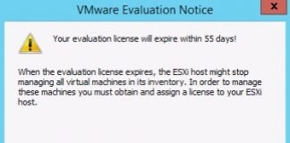 evaluation license esxi