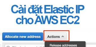 cài đặt elastic ip cho ec2 instance