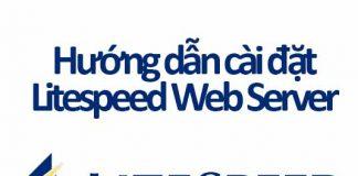 cài đặt litespeed web server
