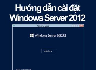 cài đặt windows server 2012