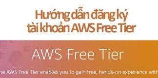 đăng ký tài khoản aws free tier