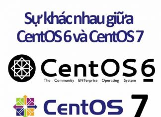 sự khác nhau giữa centos 6 và centos 7