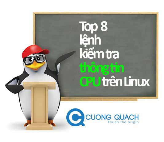 top 8 lệnh kiểm tra thông tin cpu trên linux