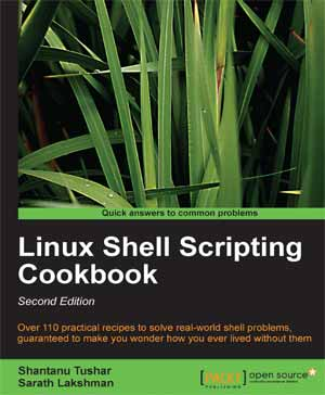 ebook linux shell scripting cookbook pdf