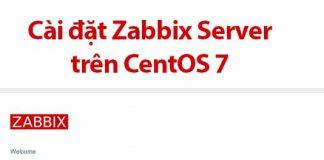 cài đặt zabbix server trên centos