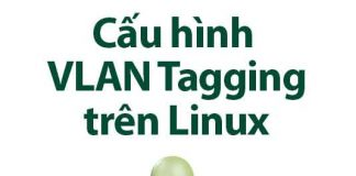 cấu hình vlan tagging trên linux