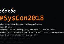 sự kiện syscon 2018