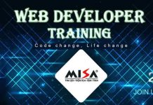 event web developer training 2018