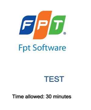 đề thi tuyển dụng của fsoft