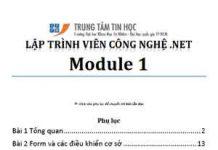 lập trình c# dh khtn