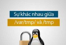 sự khác nhau giữa /var/tmp và /tmp trên Linux